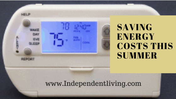 Saving Energy Costs This Summer
